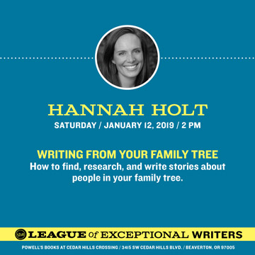 write about your family